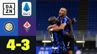 Dramatisches Torfestival mit glücklicherem Ende für Inter:  Inter - Florenz 4:3 | Serie A | DAZN