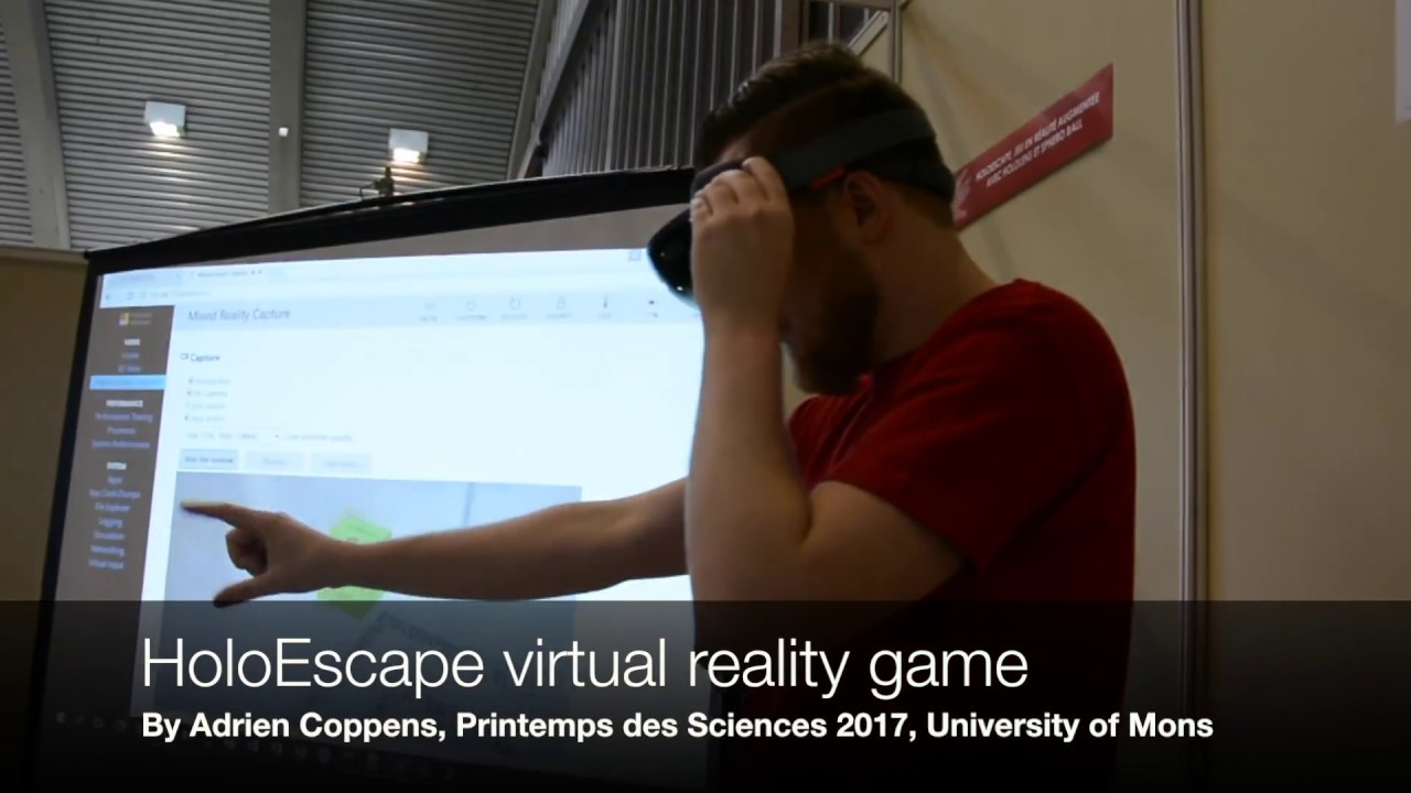Holoescape Hololens Augmented Reality Game Youtube