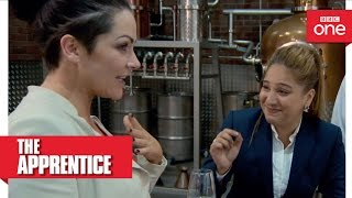 Grainne and Trishna get a little merry - The Apprentice 2016: Episode 10 Preview - BBC One