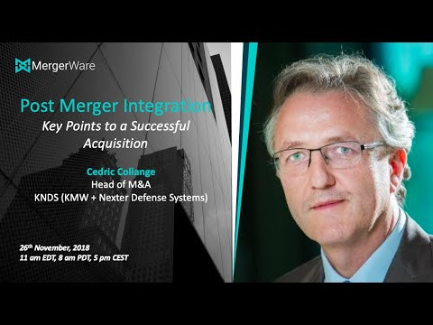Webinar   'Post Merger Integration  %0BKey Points to a Successful Acquisition'