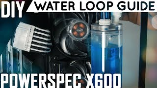 Water Loop Guide | Filling & Adding Dye