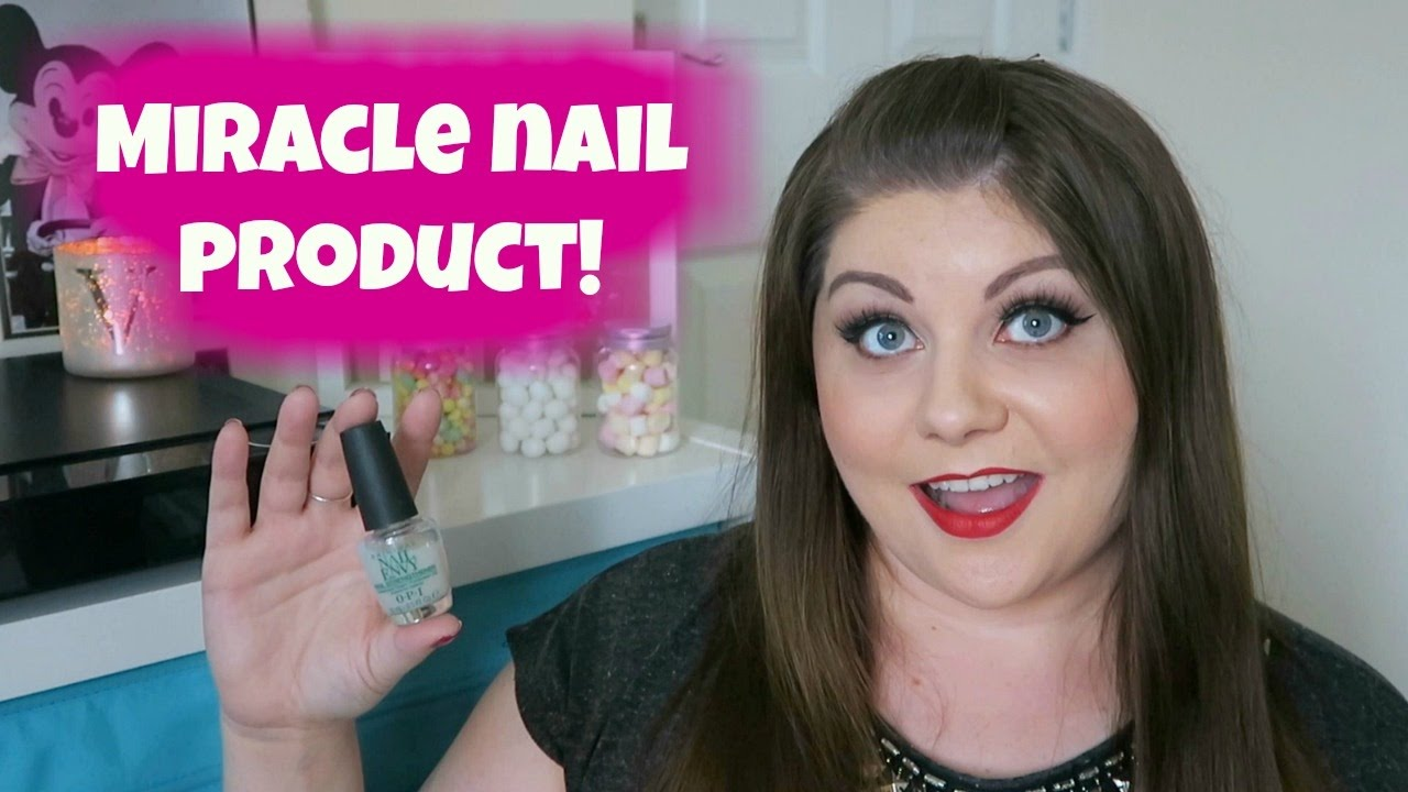Miracle nail product! How to grow your nails quickly - YouTube