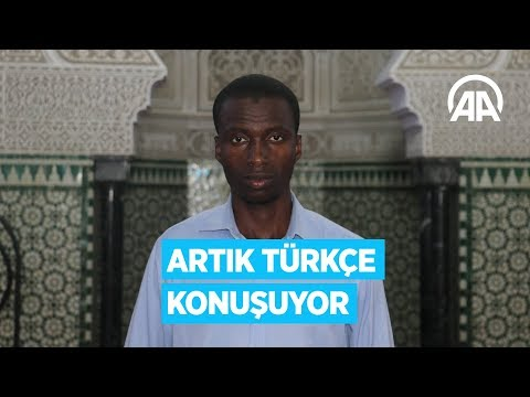 Türkiye Sevdalısı Müezzin Artık Türkçe Konuşuyor