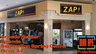 Arcade Hunter 01: Superstition Spring Center Mall Mesa, AZ – Ms. Pac-Man, Galaga, Let