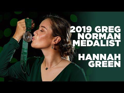 Hannah Green Acceptance Speech - 2019 Greg Norman Medal