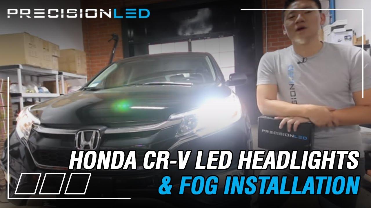 hight resolution of honda cr v led headlights fog lights how to install 4th cr v hid lights wiring diagram