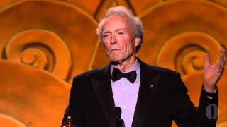 2010 Governors Awards -- Clint Eastwood on Eli Wallach thumbnail