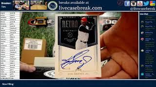Chest! 2018 Panini National Treasures Baseball 4 Box Case Break #04