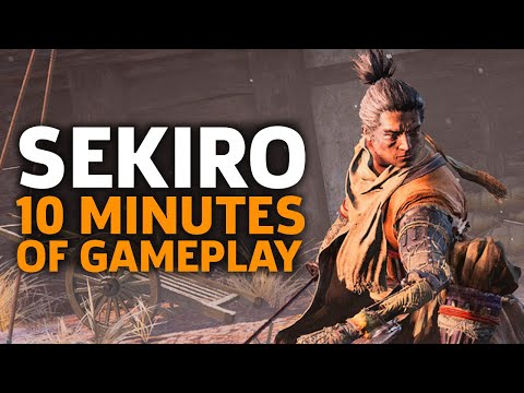10 Minutes Of Sekiro: Shadows Die Twice Gameplay | Gamescom 2018