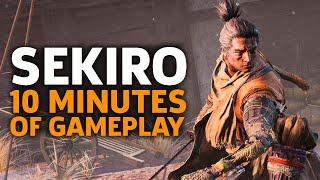 10 Minutes Of Sekiro: Shadows Die Twice Gameplay | Gamescom 2018