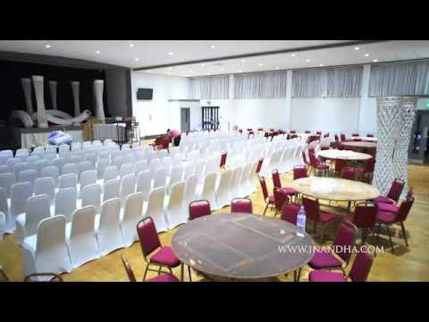 Setup at The Sapphire Suite by Sapphire Events