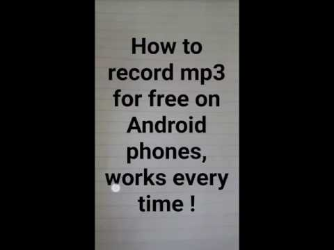 how to download free mp3 to your Android phone