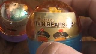 開封動画 ルルロロ youtube動画 TINY TWIN BEARS ストラップ ルルロロプロジェクト(^0^)ノ全6種類.