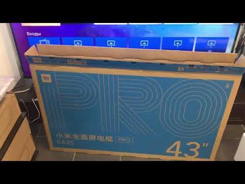 Обзор Xiaomi Mi Tv Pro E43s