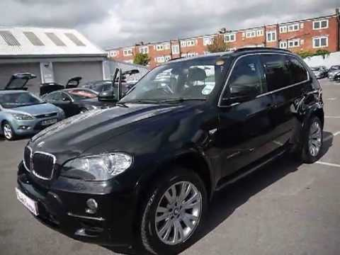 2010 bmw x5 m sport xdrive30d black for sale in hampshire youtube. Black Bedroom Furniture Sets. Home Design Ideas