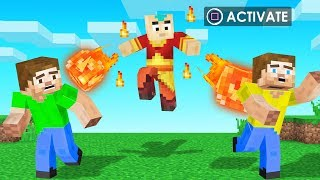 Playing MINECRAFT As FIRE BENDERS! (Avatar Mod)