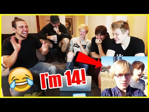 REACTING TO OUR FIRST VINES | **CRINGE WARNING**