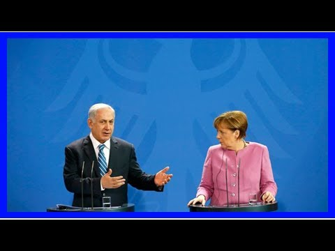 Breaking News | Germany's Angela Merkel talks Iran nuclear deal, 'new' anti-Semitism in Israeli int