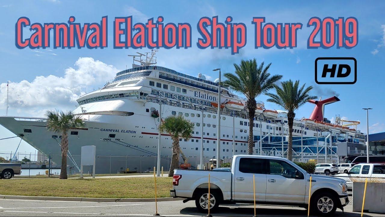 Carnival Elation 2019 Tour Youtube