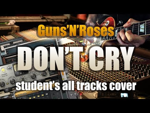 GUNS'N'ROSES «DON'T CRY» (GUITAR SOLO). Full cover by my student
