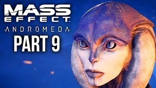MASS EFFECT ANDROMEDA Walkthrough Part 9 - VOELD - HELP THE RESISTANCE (Female) Full Game
