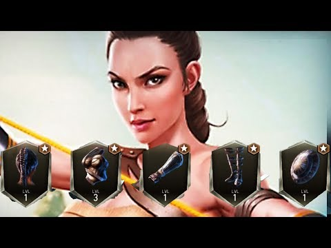 Injustice 2 Gameplay #101 - FULLY GEARED Amazon Wonder Woman
