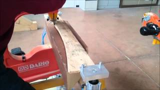 Md Dario Bandsaw, Timber Curve Cut