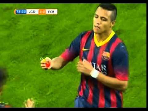 NEYMAR debut a Barcelona