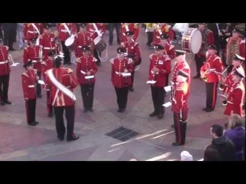 Menton France 3/3 (Regimental march)