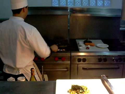 Ka'ana Resort Belize - Home Video Of Chef Preparing Guest's Meal