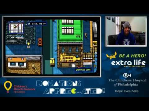Retro City Rampage DX Charity Stream for The Children's Hospital of Philadelphia (Part 2)