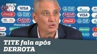 OLHA o que TITE falou após BRASIL 1 x 2 BÉLGICA!