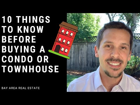 Top 10 Things to Know Before Buying a Condo or Townhouse!
