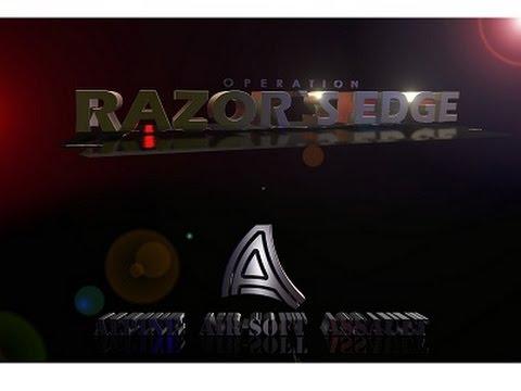 RAZOR'S EDGE TEASER 1080p ALPINE AIRSOFT ASSAULT