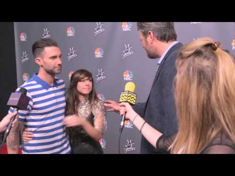 The Voice Red Carpet | Season 6 Top 12 :Blake Shelton & Adam Levine | AfterBuzz TV