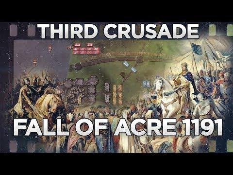 Fall Of Acre 1191 - Third Crusade DOCUMENTARY