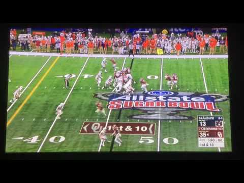 SAMAJE PERINE BREAKS THE ALL TIME OKLAHOMA CAREER RUSHING RECORD FORMERLY HELD BY BILLY SIMS