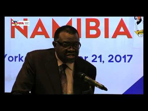 President Geingob says Donald Trump's 'Nambia' is putting Namibia on the map-NBC