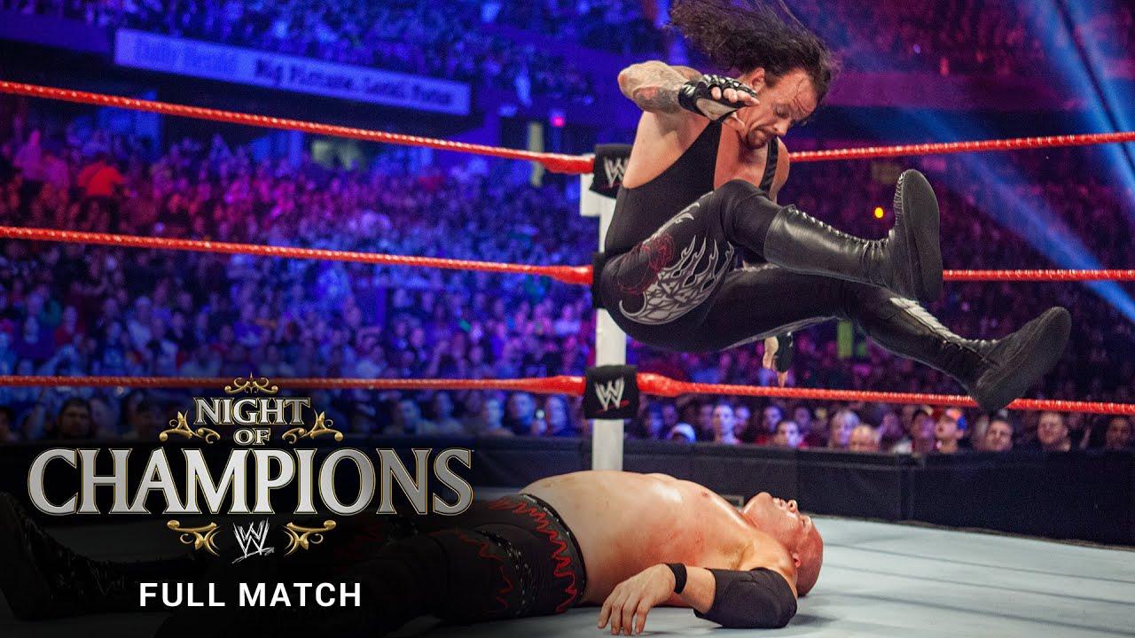 FULL MATCH: Kane vs. Undertaker – World Heavyweight Title Match: WWE Night of Champions 2010