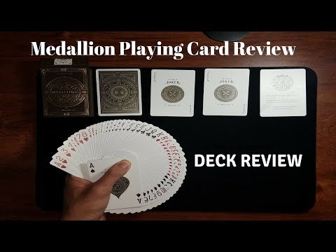 Deck Review - Medallions - By Theory11