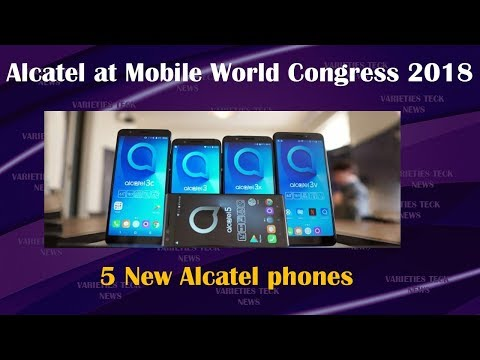 Mobile World Congress 2018 - ALCATEL