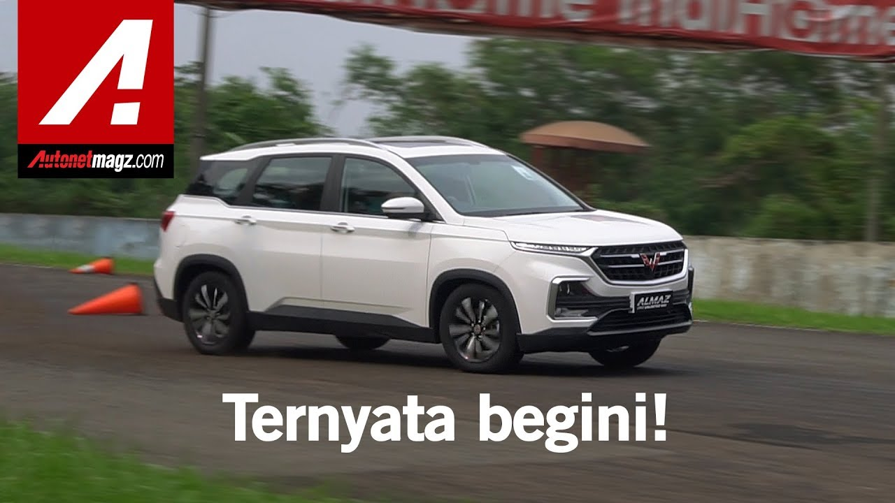 Wuling Almaz SUV Review & First Drive by AutonetMagz - YouTube