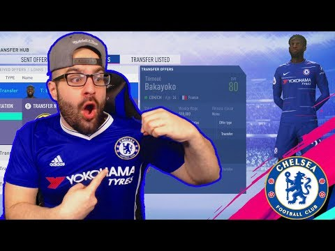 OMG OUR SUPERSTAR HAS ARRIVED!! FIFA 19 Career Mode Chelsea thumbnail