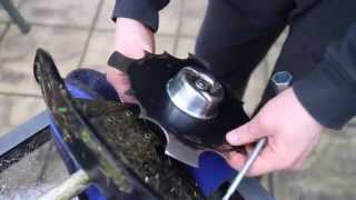 Honda UMK425U Brush Cutter Blade Installation How To Install Cutting Blade On Honda Brushcutter