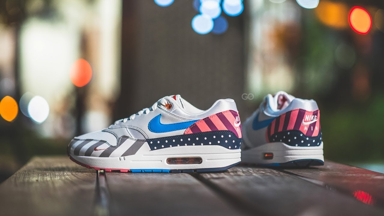 The pair of Nike Air Max 1 Parra on the account Instagram