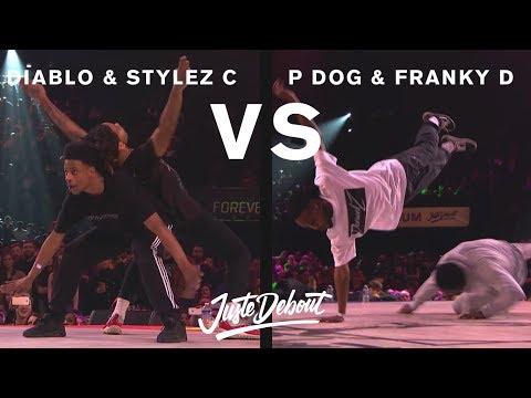 Diablo & Stylez C Vs P Dog & Franky D - Juste Debout 2017