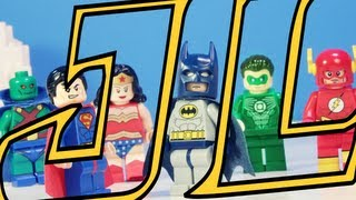 "Lego Justice League ""Origin"""