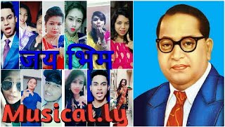 Best Of डॉ.बाबासाहेब आंबेडकर Musically||jai Bhim Babasaheb Ambedkar Musically ||