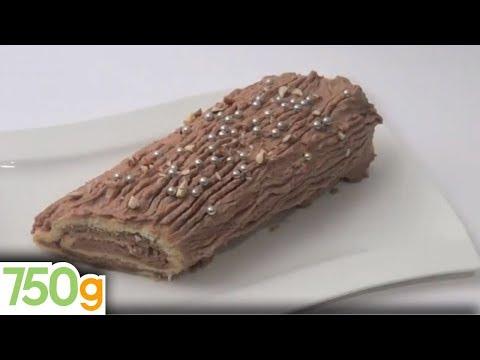 recette-de-bûche-de-noël-à-la-crème-au-beurre-pralinée---750g