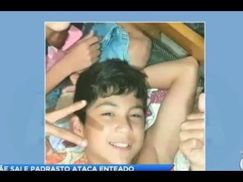 Padrasto mata enteado de 13 anos de idade